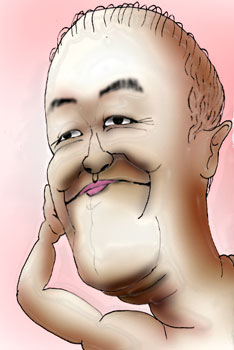 [有名人の似顔絵]